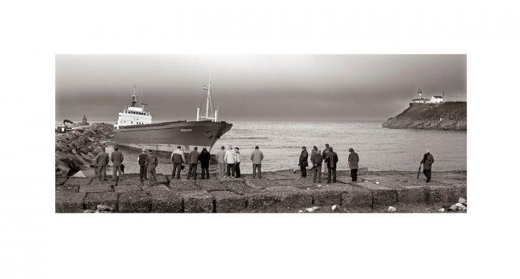 Barco encallado San Juan de Nieva