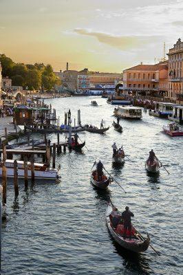 Puesta de Sol Venecia.