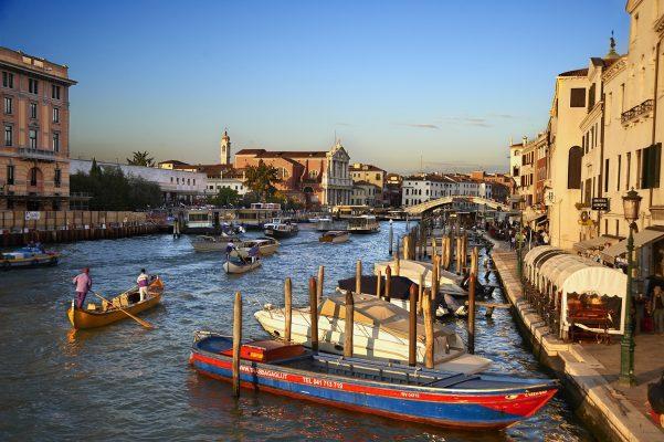 Foto de Venecia.