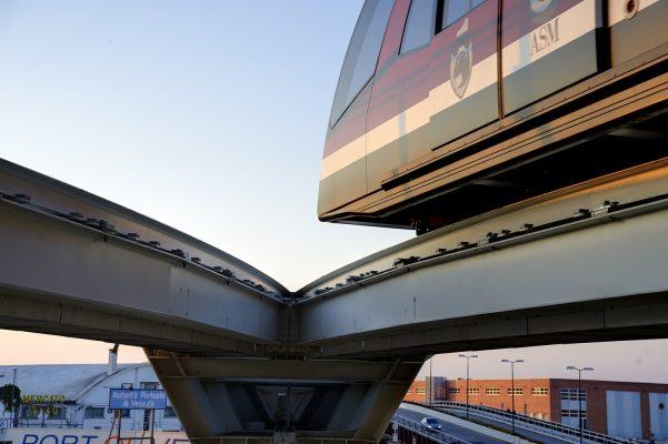 Foto de tren Italia.