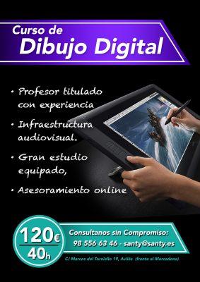 Curso dibujo Digital Avilés