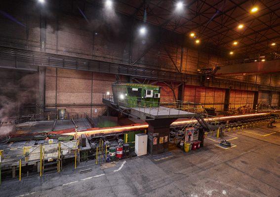 Instalaciones de Arcelor Mittal - Avilés, Asturias.