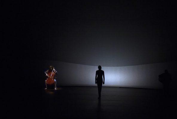Fotografía de la actualización de la compañía de Ballet María Pages en el centro Niemeyer, Avilés, Asturias.