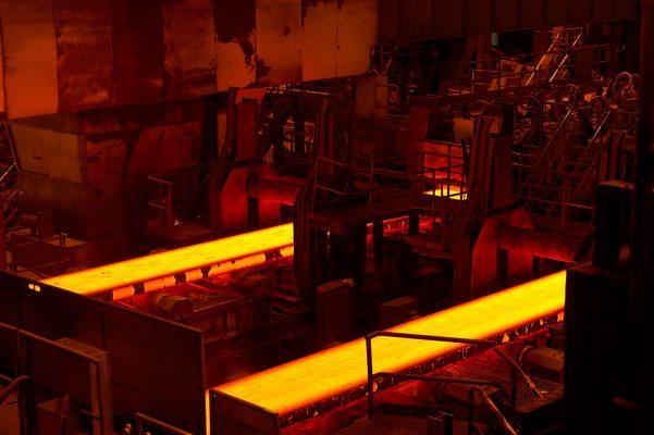 Fotografía industrial para Arcelor Mittal en Tabaza, Carreño, Asturias. Fundición. Laminación. Metal.