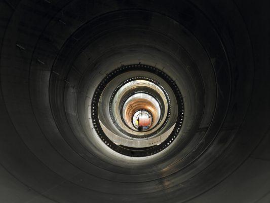 Industrial, Generador eólico, fundición, aceralia, industrtia, metal.Tubería fabricada por Windar Eólica S.L., Avilés, Asturias.
