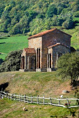 Iglesia de Santa Cristina de Lena, Arte Prerrománico Asturiano, Pola de Lena, Asturias.