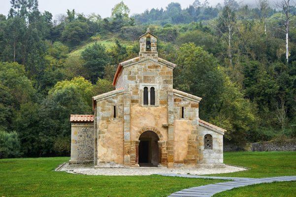 Monasterio de Valdediós-Villaviciosa, Asturias.