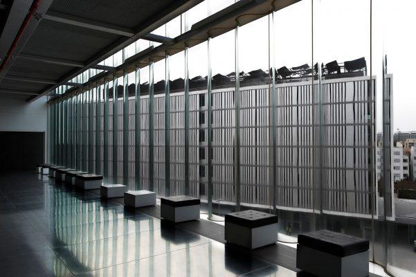 Edificio de la escuela de música de Oporto, realizada por el arquitecto Rem Koolhaas.