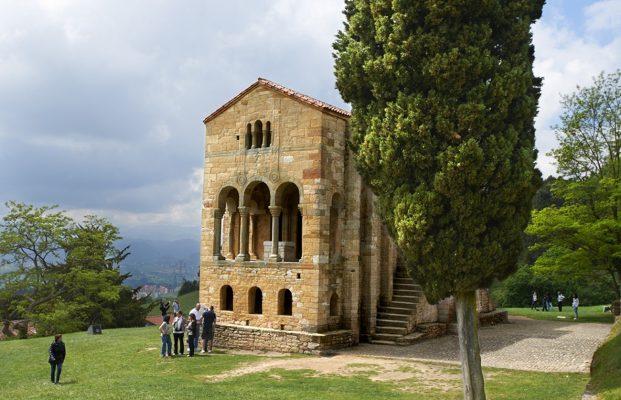 Iglesia prerrománica deSanta María del Naranco, Oviedo, Asturias.