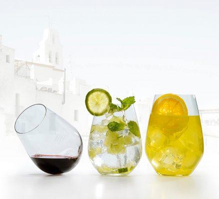 Vaso modelo Ibiza, para Dkristal, Siero, Asturias.. fotografía de bebidas y licores realizada en estudio de fotografía de vaso modelo Ibiza, para Dkristal, Siero, Asturias.