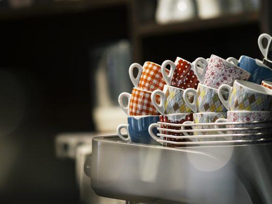 Bodegón con tazas - Cafés Oquendo.