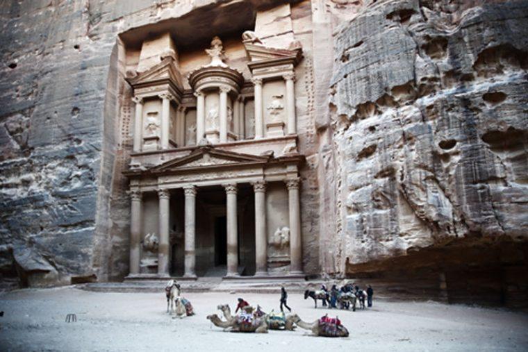 Jordania. Templo de Petra.